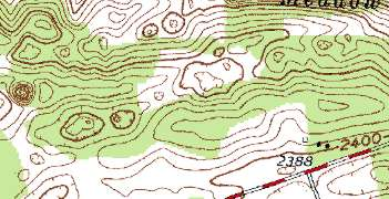 Sinkholes Sinkholes Or Collpsaed Areas Often Indicate Karst Development In The Subsurface Trends Or Alignments Of Sinkholes Can Indicate The Potential